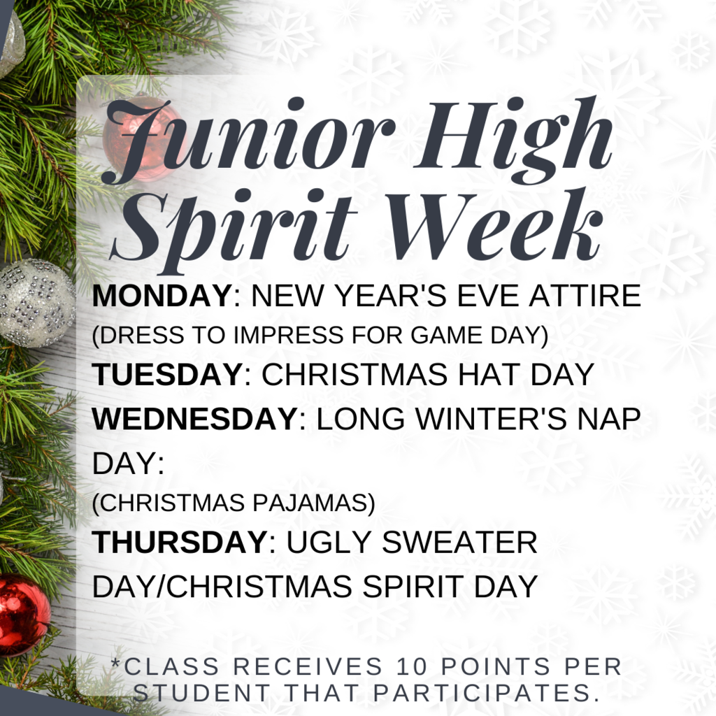 junior high spirit week