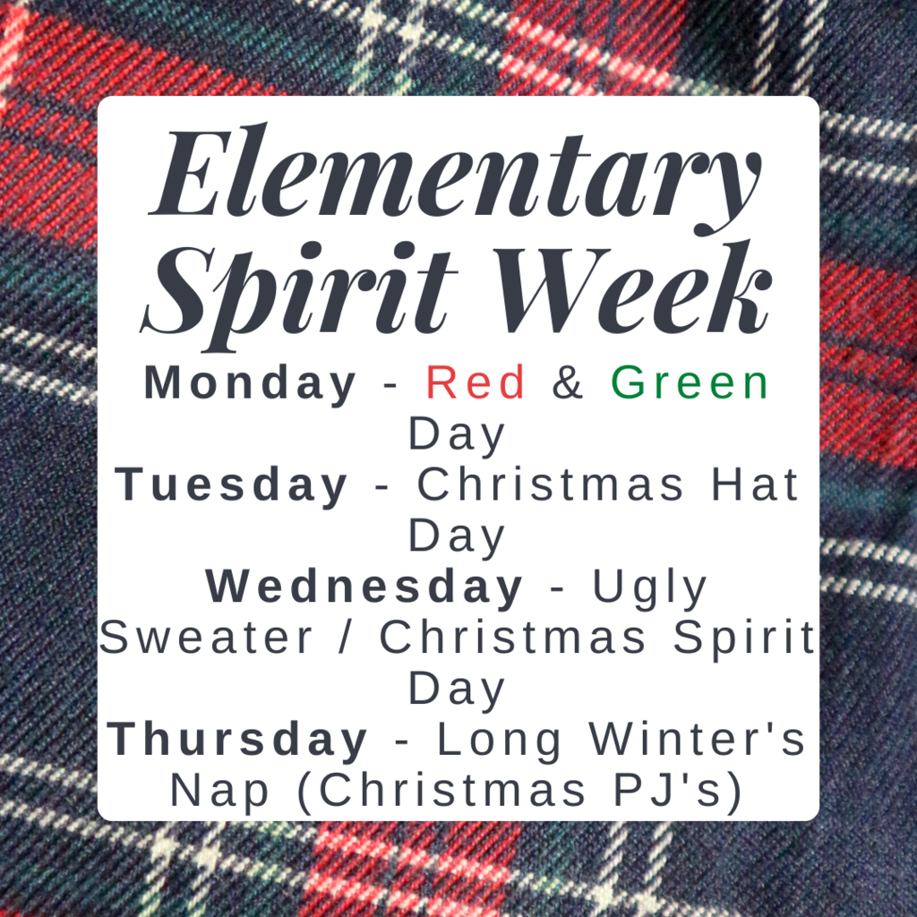 elem spirit week