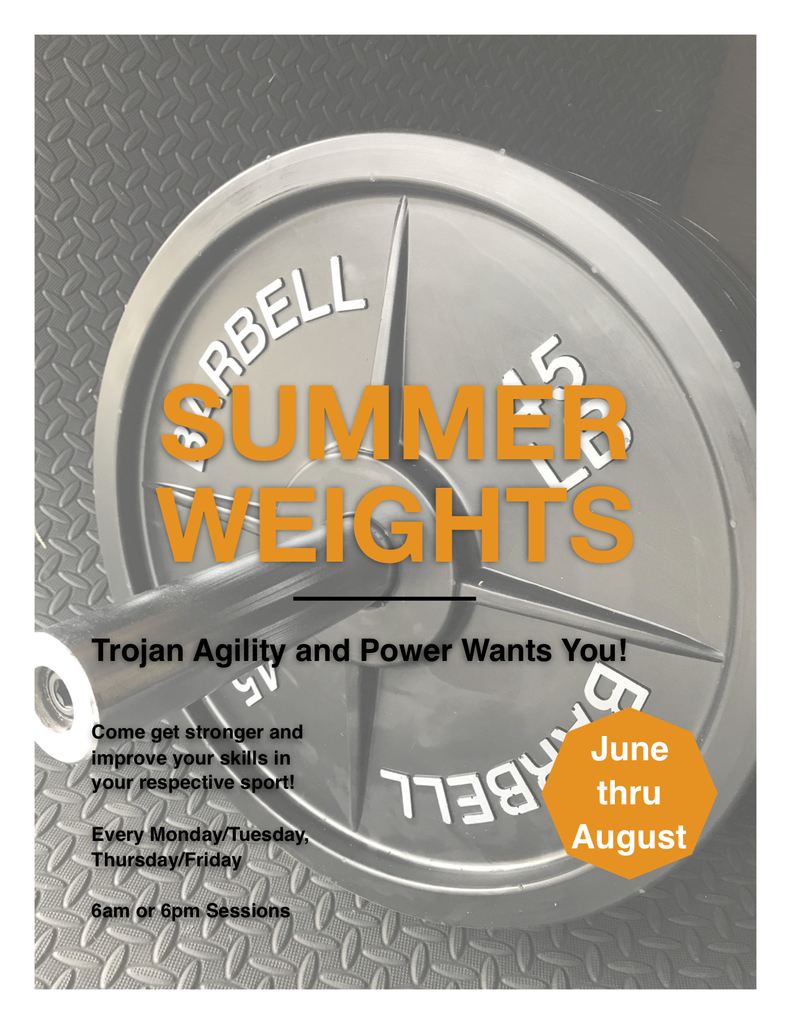 Summer Weight Information
