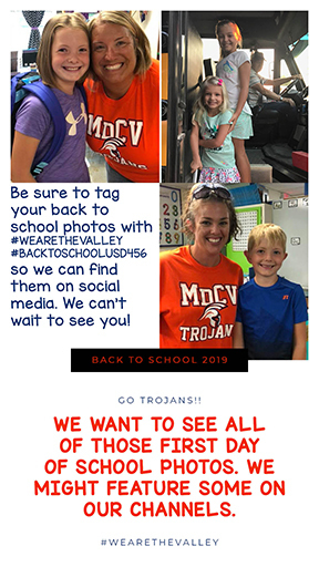 back to school social media share