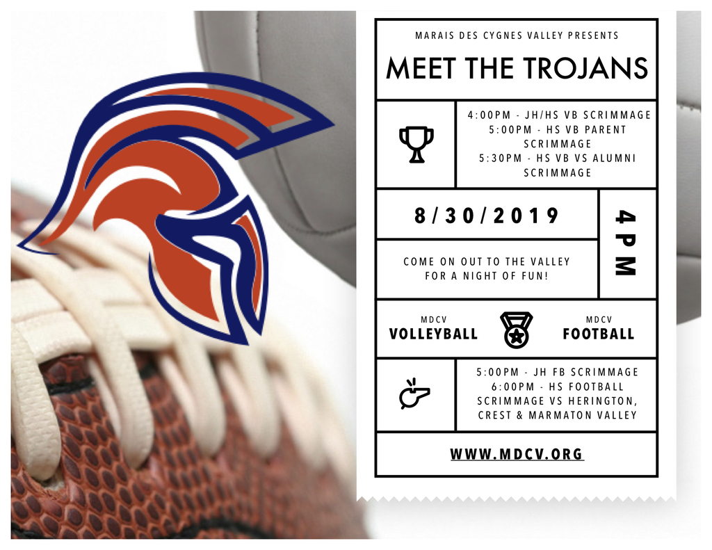 Meet the Trojans Flyer