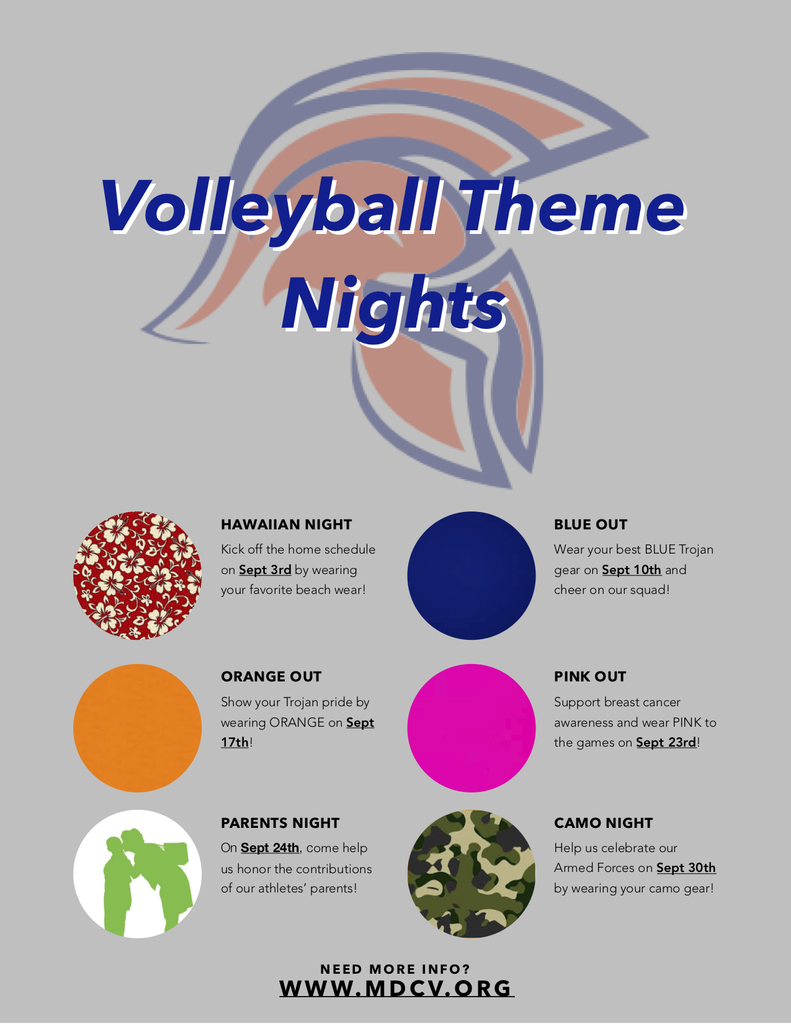 Theme Night Flyer